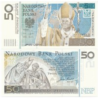 Polonia - Billete 50 Zlotych de 2006