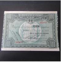 España - Serie de 5 Billetes de Bilbao 1937