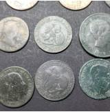 España - Lote de Monedas de Cobre