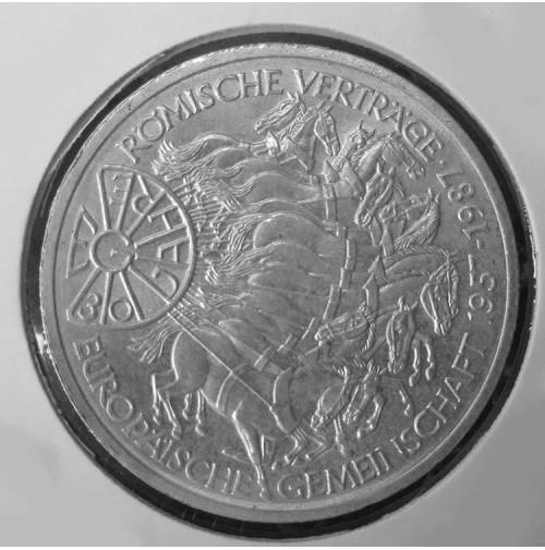 Alemania - 10 Marcos de 1987 de Plata