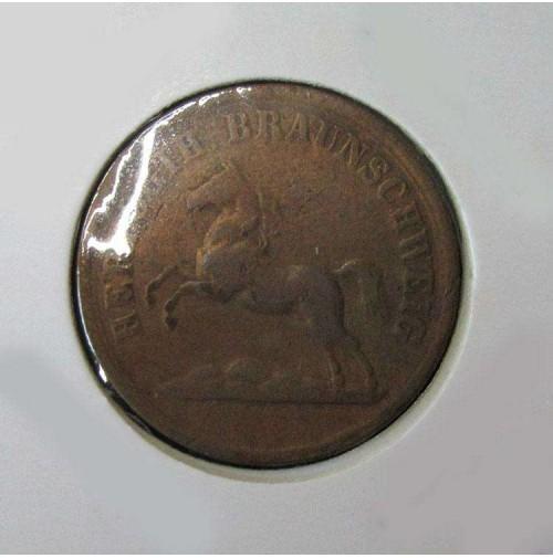 Alemania (Estados Alemanes) - Brunswick - 2 Pfennige 1860