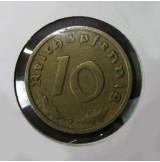 Alemania - 10 Reich Pfennig 1938 G - Tercer Reich