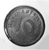 Alemania - 10 Reich Pfennig 1943 A - Tercer Reich