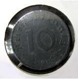 Alemania - 10 Reich Pfennig 1942 B - Tercer Reich