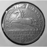 Alemania (Estados Alemanes) - Brunswick-Wolfenbüttel 1/2 Thaler de 1768 de Plata
