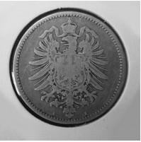 Alemania (Imperio Alemán) - 1 Marco de plata de 1877 A