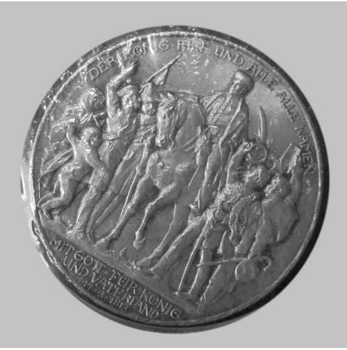 Alemania (Estados Alemanes) - Prusia - 3 Marcos de plata de 1913