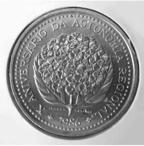 Portugal (Azores) - 100 Escudos de 1986