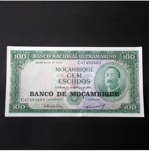 Mozambique - 100 Escudos de 1961 Sin Circular