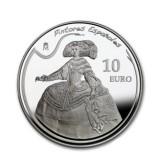 España - 10 euros de Plata de la Serie Pintores Españoles 2008: Velázquez - PROOF de la FNMT