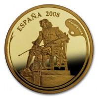 España - 200 euros de Oro de la Serie Pintores Españoles 2008: Velázquez - PROOF de la FNMT