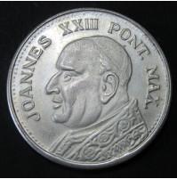 Medalla de plata Joannes XXIII Pont Max - Vaticano