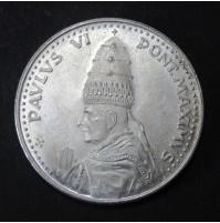 Medalla de plata Paulus VI - Pont Maximus 1975 - Vaticano