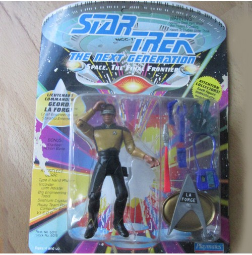 Star Trek - Playmates (1992-1997) - Figura Comandante La Forge