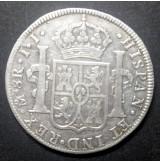 España - 8 Reales 1814 México JJ Fernando VII de Plata