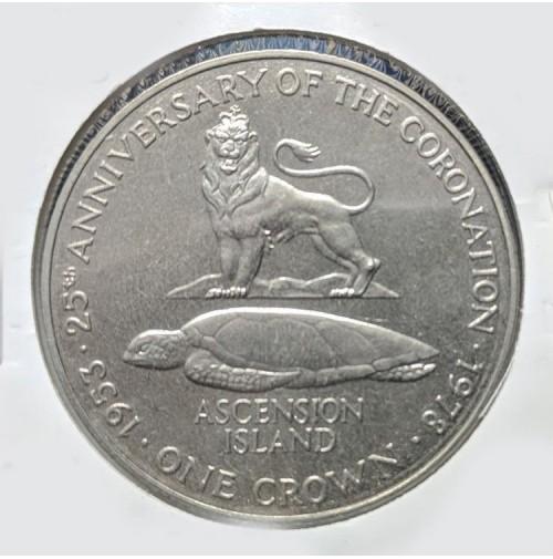 Isla de Ascensión - 1 Corona de 1978