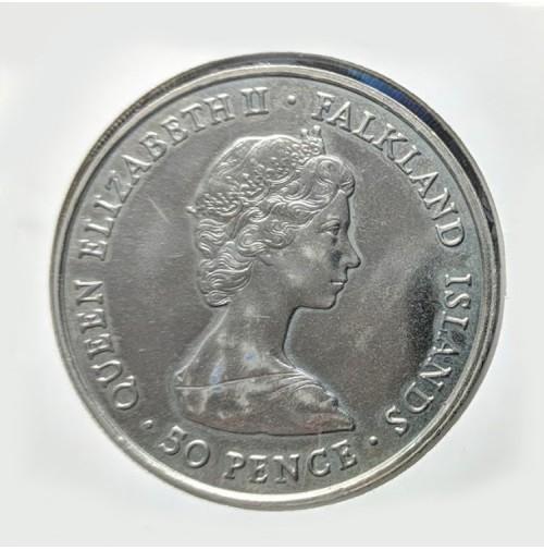 Falkland - 50 Peniques de 1980