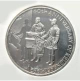 Falkland - 50 Peniques de 1992