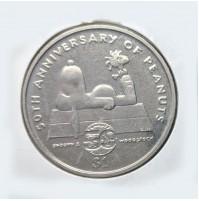 Niue - 1 Dólar de 2000 (Snoopy)