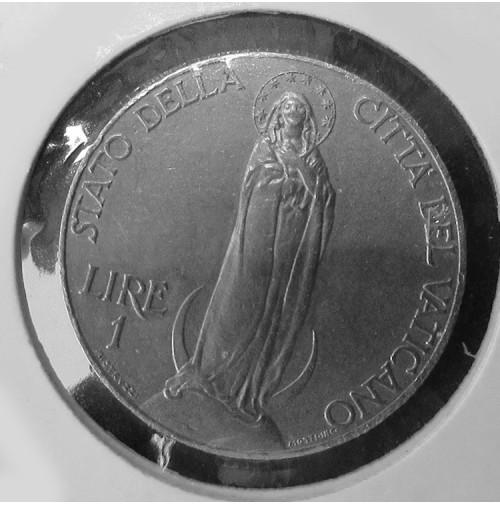 Vaticano - 1 Lira de 1931 X