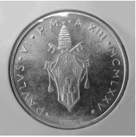 Vaticano - 500 Liras de 1975 de Plata