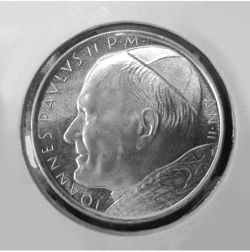 Vaticano - 500 Liras de 1980 de Plata