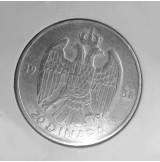Yugoslavia - 20 Dinara 1938 de Plata