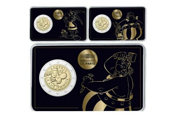 Francia - 2 euros conmemorativos  2019 - LOTE CON LOS TRES MODELO