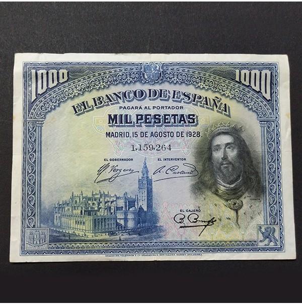 España - 1000 Pesetas 1928 - San Fernando