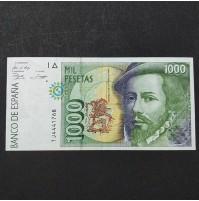 España - 1000 Pesetas 1992 - Hernán Cortés
