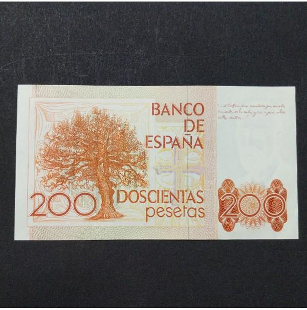 España - Billete de 200 pesetas de 1980