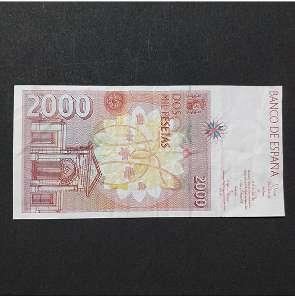 España - Billete de 2000 pesetas de 1992