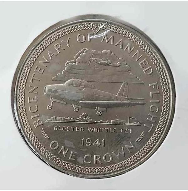 Isla de Man - 1 Corona de 1983