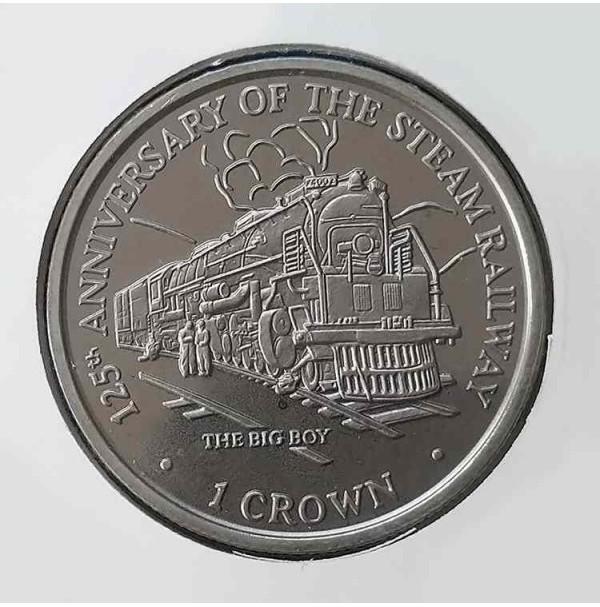 Isla de Man - 1 Corona de 1998
