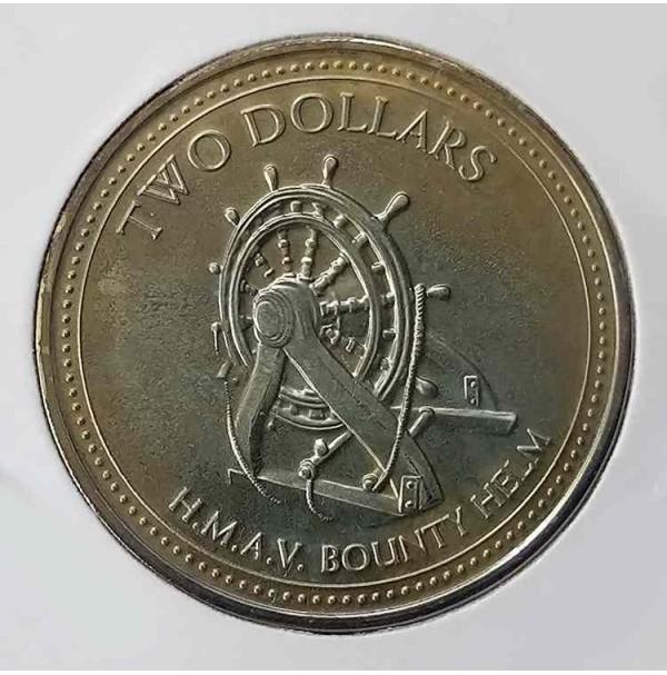 Pitcairn - 2 Dólares de 2009