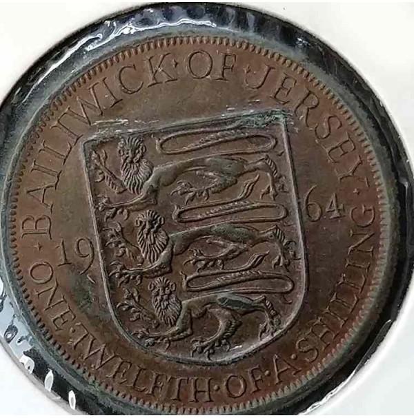 Jersey 1/12 shilling, 1964