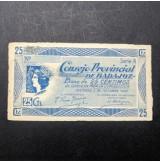 España - Lote de billetes locales de Badajoz de 1937