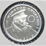 Gibraltar - 14 Ecus 1993 Winston Churchill