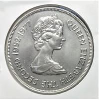 Gibraltar - 25 Nuevos Peniques de 1977