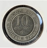 Bélgica - 10 Céntimos 1861 Leopoldo I