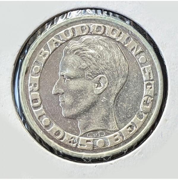 Bélgica - 50 Francos de 1958 de Plata