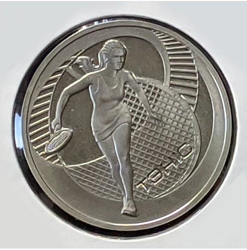 Bielorrusia - 1 Rublo de 2005 Tenis