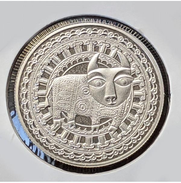 Bielorrusia - 1 Rublo de 2009 Tauro