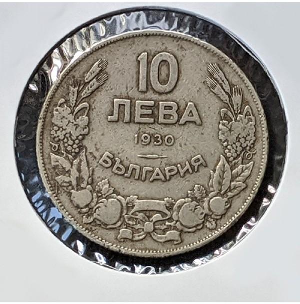 Bulgaria - 10 Leba de 1930
