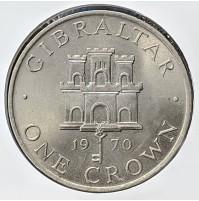 Gibraltar - 25 Peniques  (1 Cortona) de 1970