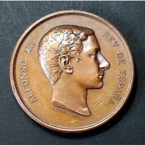 Medalla de bronce de la Exposición Nacional de Bellas Artes de 1878