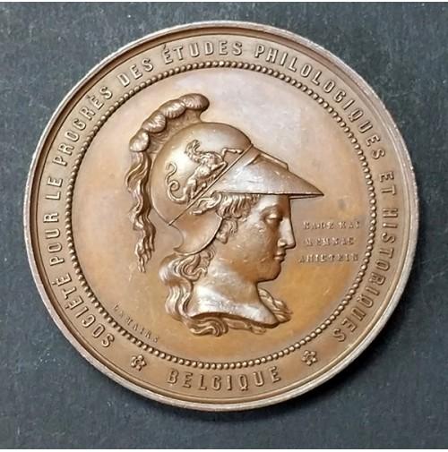Medalla de bronce Sociedad para el Avance de los Estudios Filológicos e Históricos 1875