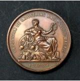 Medalla de Bronce de la Exposición de Industrias Nacionales de Madrid 1897-1898