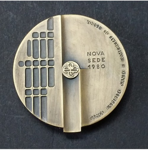 Medalla de Bronce Banco Espíritu Santo de Lisboa 1980