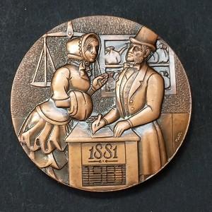 Medalla de Bronce Banco Sabadell